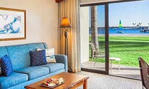 カタマラン リゾート ホテル アンド スパ 部屋からの眺め