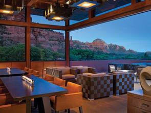エンチャントメント リゾート レストラン