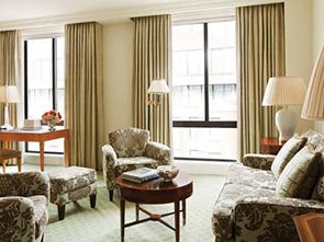 フォー シーズンズ ホテル ワシントン リビング