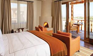 フォー シーズンズ リゾート ランチョ エンカンタード サンタ フェ ベッドルーム