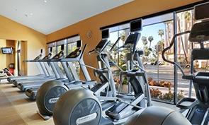 ヒルトン サンディエゴ リゾート & スパ トレーニングジム