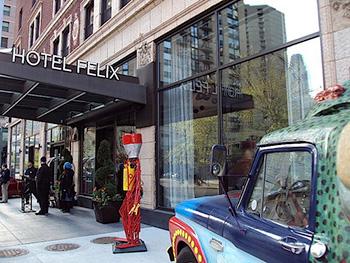 ホテル フェリックス シカゴ