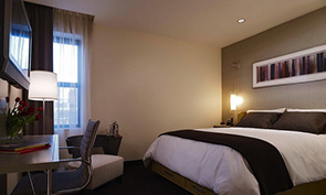 ホテル フェリックス シカゴ 部屋