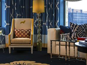 ホテル モナコ フィラデルフィア リビング