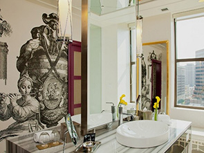 ホテル モナコ フィラデルフィア 洗面所
