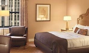 インターコンチネンタル シカゴ マグニフィセント マイル 部屋の一例