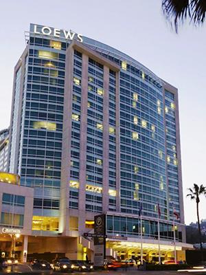 ロウズ ハリウッド ホテル