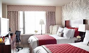 ロウズ マディソン ホテル ベッドルーム