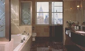 ロウズ フィラデルフィア ホテル バスルーム