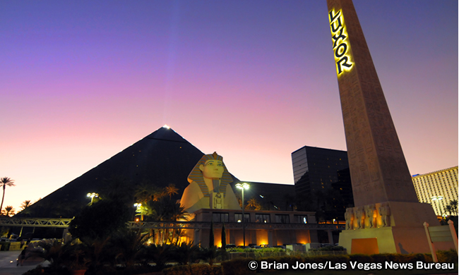 ルクソール ラスベガス Luxor Las Vegas