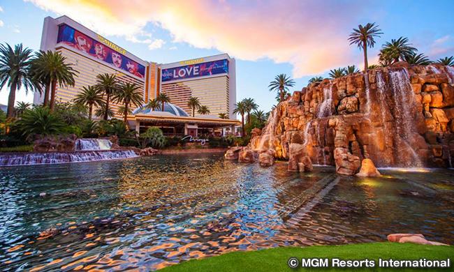 ミラージュ ラスベガス The Mirage Las Vegas