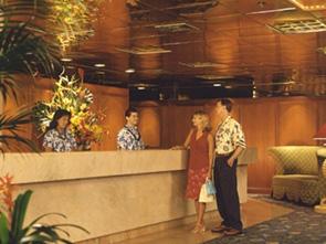 パシフィック ビーチ ホテル フロント