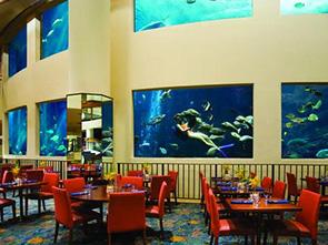 パシフィック ビーチ ホテル レストラン