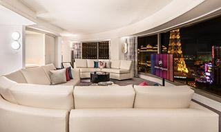 プラネット ハリウッド ラスベガス リゾート & カジノ 寝室