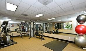 クオリティ イン & スイーツ シアトル センター トレーニングジム