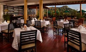 クイーン カピオラニ ホテル レストラン