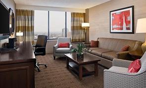 シェラトン フィラデルフィア ユニバーシティ シティ ホテル リビング