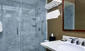 シェラトン フィラデルフィア ユニバーシティ シティ ホテル 洗面所