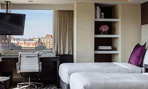 デュポン サークル ホテル ベッドルーム