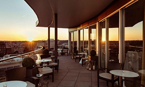 デュポン サークル ホテル レストラン テラス