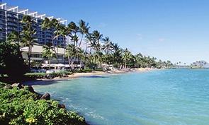 ザ・カハラ・ホテル & リゾートのビーチ