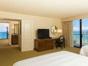 ワイキキ ビーチ マリオット リゾート & スパの部屋