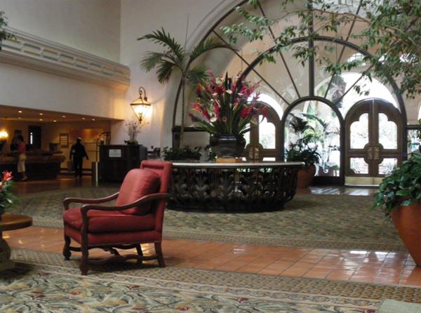 サンタ バーバラ ワイナリー紀行2 Fess Parker's Double Tree Resort