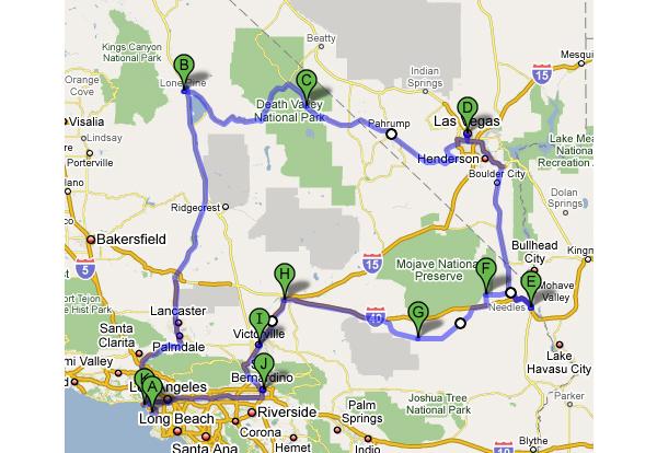 カリフォルニア・ドライブ紀行 カントリーロード「ルート66」とパシフィック・コースト1