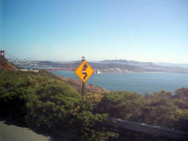 カリフォルニアワインカントリーの旅 サンフランシスコに戻ってきました