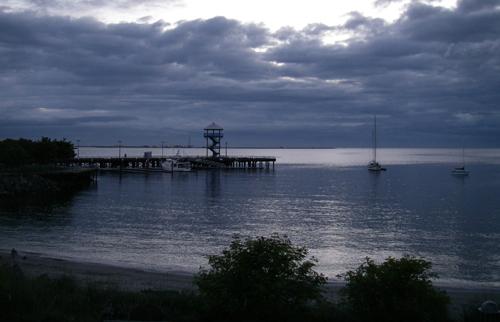 港町の早朝 Port Angels