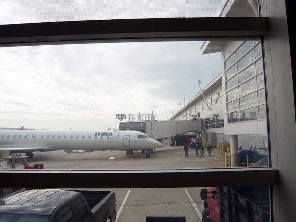 デトロイト空港レポート その2