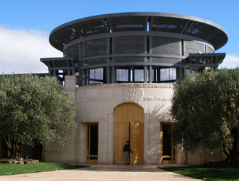 オーパスワンのワイナリー Opus One