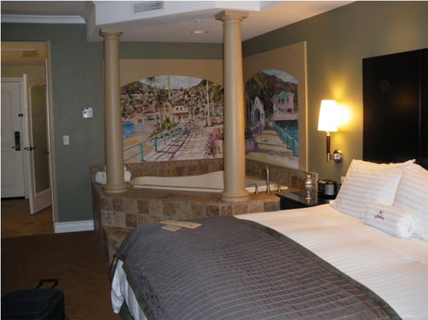 カリフォルニアワインカントリーの旅 La Bellasera Hotel