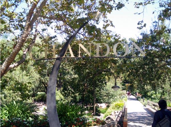 カリフォルニアワインカントリーの旅 ドメーヌ・シャンドン  Domaine Chandon