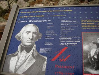 4人のアメリカ大統領 ジョージ・ワシントン