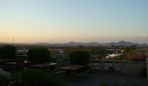 アリゾナ、最後の晩餐
