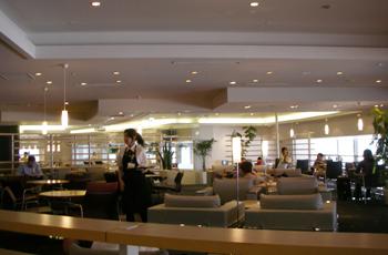 成田空港からアメリカ本土へ向けて出発