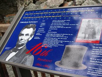 4人のアメリカ大統領 エイブラハム・リンカーン