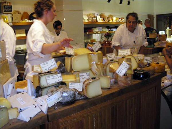 カリフォルニアワインカントリーの旅 世界各国のチーズ