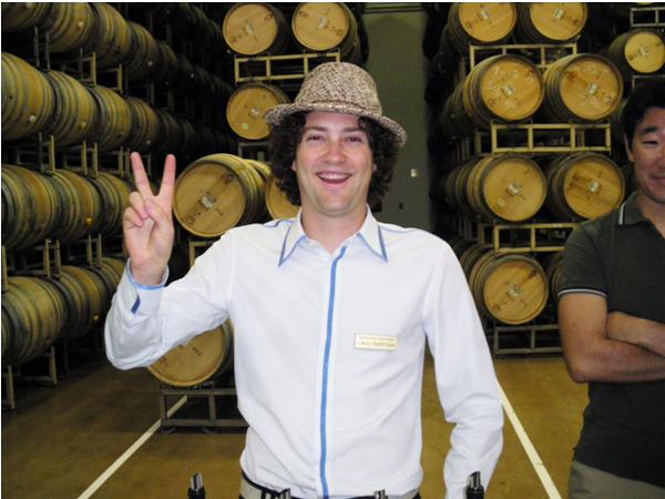 カリフォルニアワインカントリーの旅 トレフェッセン家3代目のローレン君