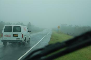 ハワイ島ドライブ出発