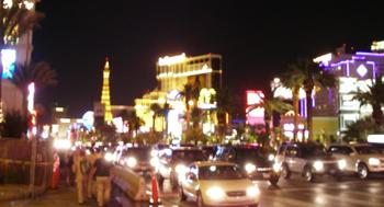 ラスベガスの夜