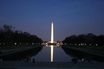 ワシントンDCの夜