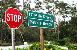 17マイル・ドライブ 17 mile drive