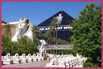 ピラミッドに泊まる ~ ルクソール ラスベガス