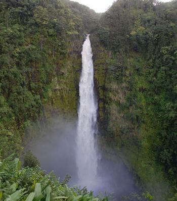 ハワイ島北部を走りました