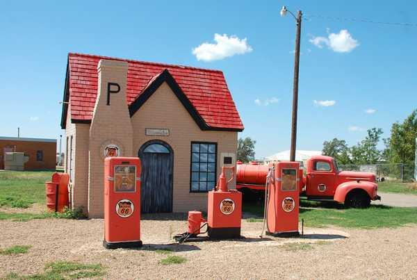 Phillips 66のガソリンスタンド