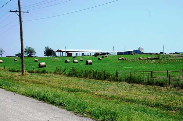 オクラホマの牧場風景