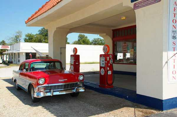 DX service station and Route 66 & vistor cente