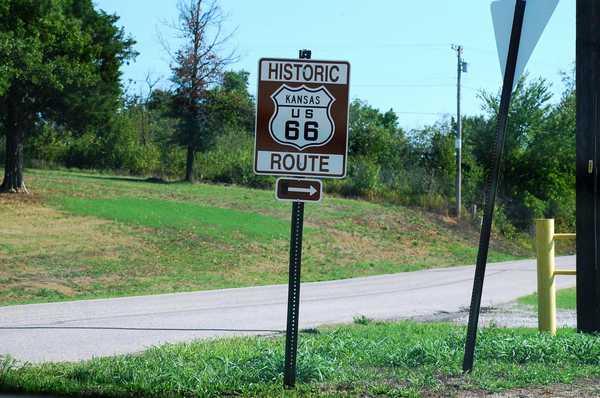 カンザス州 Route 66